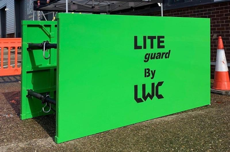 LITE guard Trench Shield Single Skin Made in UK